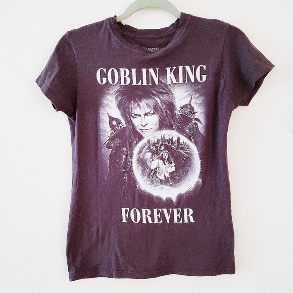 0e6d3d349 Ripple Junction Tops | Labyrinth Goblin King David Bowie Tee | Poshmark